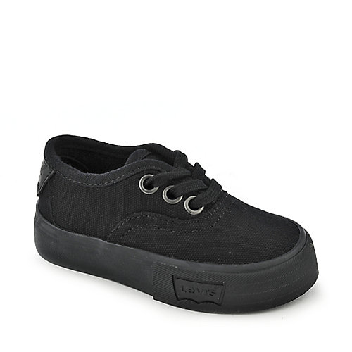 Levi's Toddler Jordy black casual kids shoe