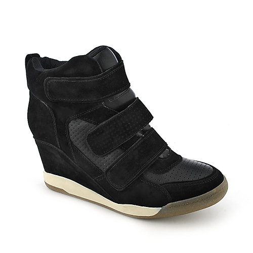 Bumper Porsha-01 womens casual sneaker wedge