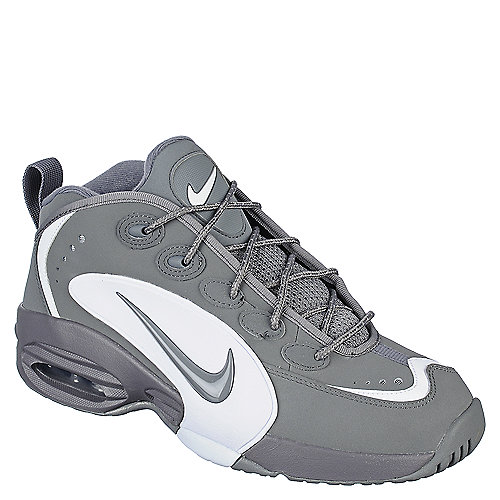Nike Air Way Up grey an white athletic basketball sneaker