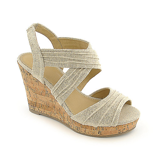 Shiekh Annice-S beige platform wedge casual shoe