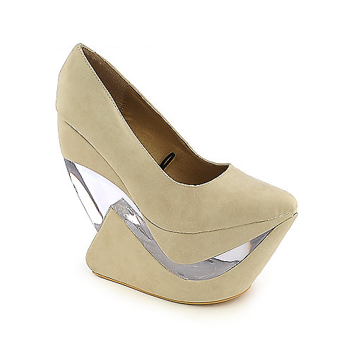 Shiekh Yvonne Heel-less wedge platform shoes