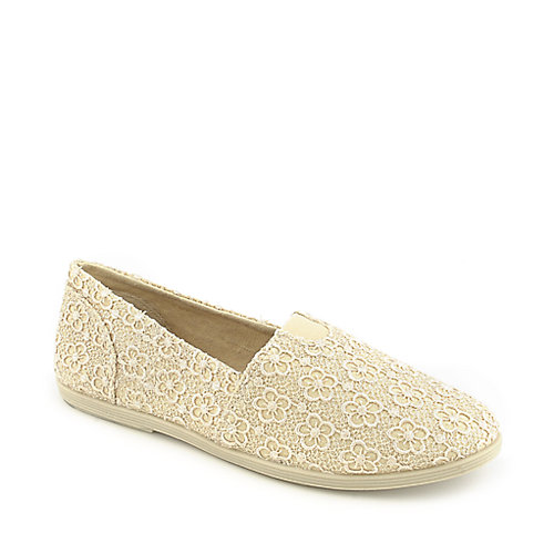Shiekh Folea-S beige casual flat slip on shoe