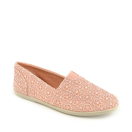 Shiekh Folea-S peach casual flat slip on shoe