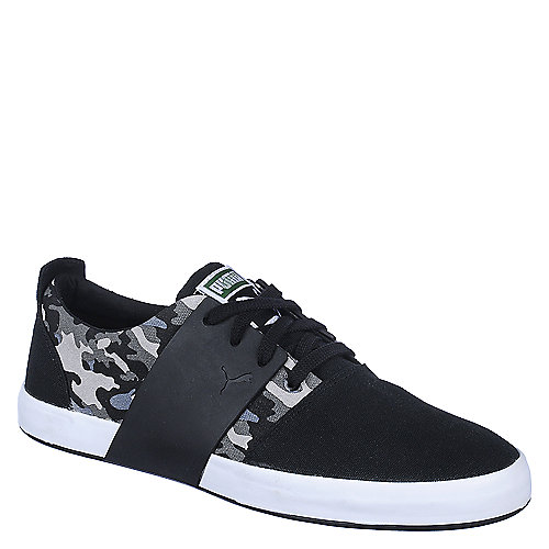 Puma Mens El Ace 3 black camo casual sneaker