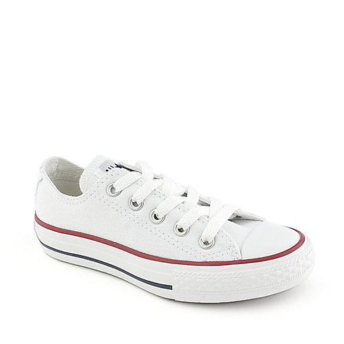 Converse Kids All Star Ox white lace up casual shoes