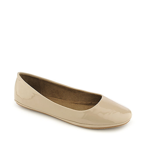 Shiekh Afar-S beige flat slip on shoe