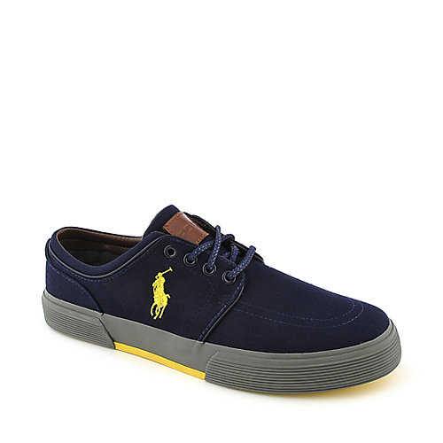 Polo Ralph Lauren Faxon Low navy casual lace up sneaker