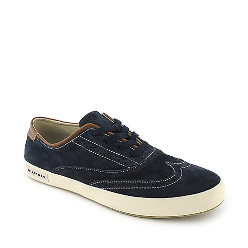 333ddf539 Tommy Hilfiger Oxford blue casual lace up sneaker