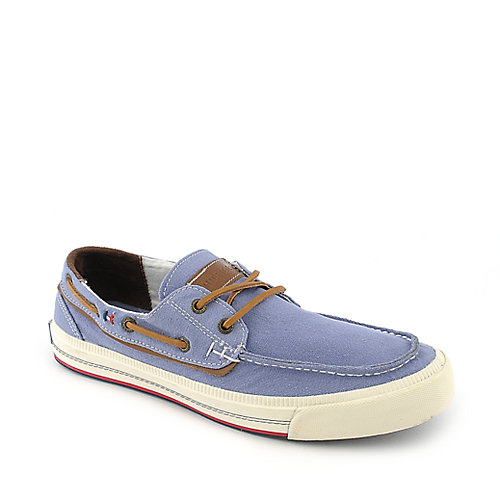 Tommy Hilfiger Griffin blue casual boat shoe