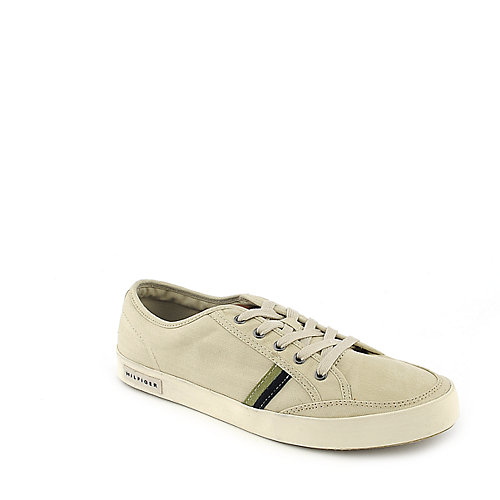 Tommy Hilfiger Oscar tan casual lace up sneaker
