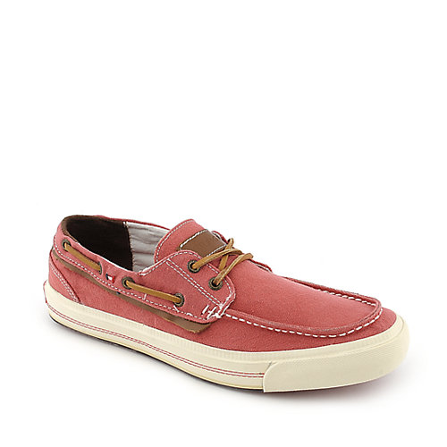 Tommy Hilfiger Griffin red casual lace up boat shoe