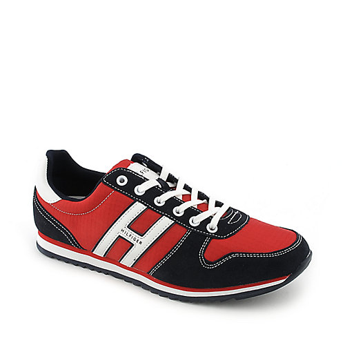 Tommy Hilfiger Falo 2 red an black athletic lifestyle sneaker