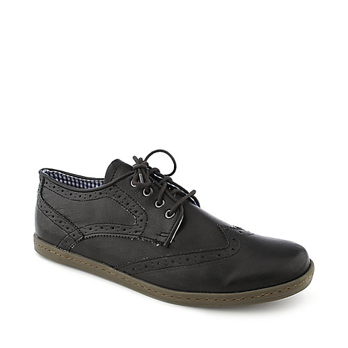 Ben Sherman Nick mens dark brown casual shoe or lace up dress shoe