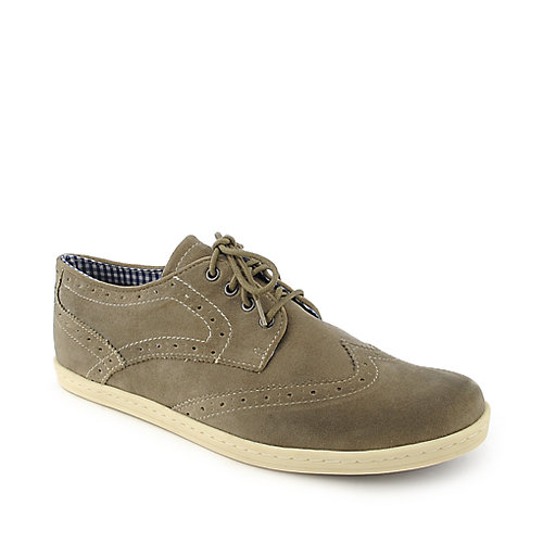 Ben Sherman Nick mens grey casual shoe or lace up dress shoe
