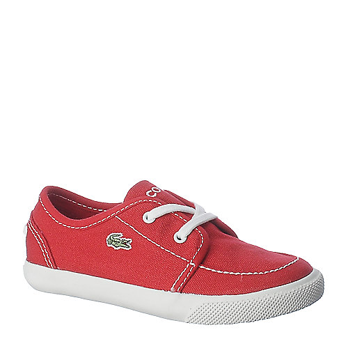 Lacoste L27 Canvas Boat kids shoes