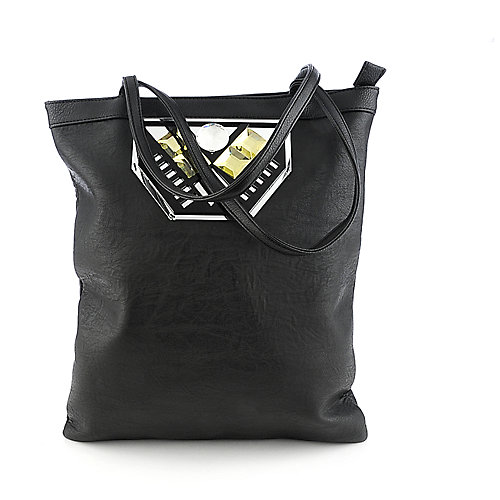 Nila Anthony Black tote handbag