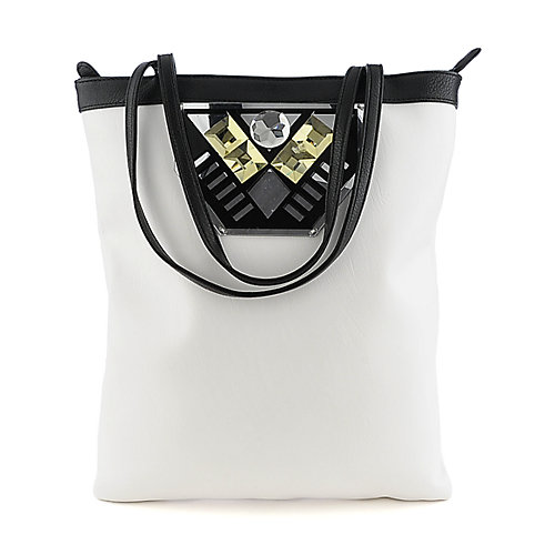 Nila Anthony white tote handbag