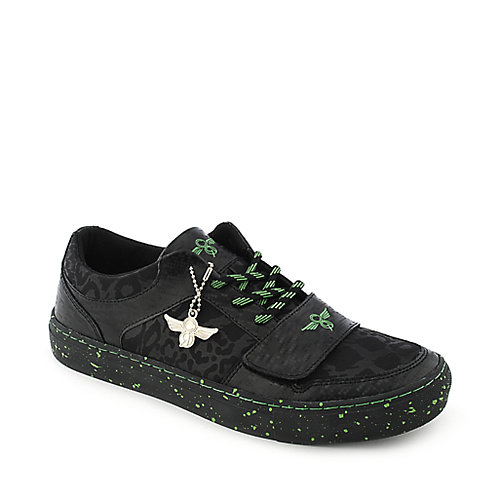 Creative Recreation Lo X black and green casual lace up sneaker