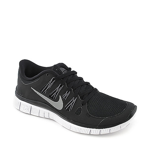 Nike Womens Nike Free Run 5.0 + black athletic running sneaker