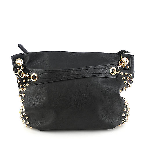 Yoki YK734 black shoulder handbag
