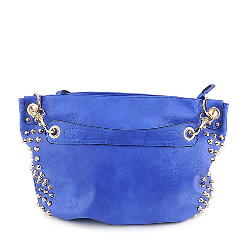 Yoki YK734 blue shoulder handbag