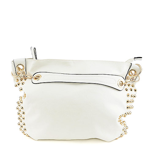 Yoki YK734 white shoulder handbag
