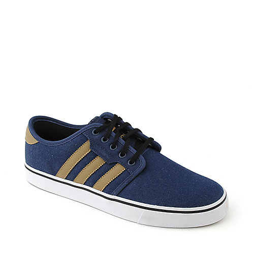 Adidas Seeley mens blue  lifestyle skate sneaker