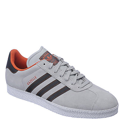 Adidas Gazelle II grey and black athletic lifestyle sneaker