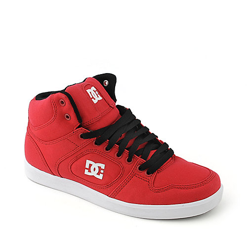 DC Union High TX red athletic skate sneaker