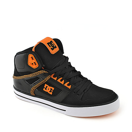 DC Spartan High WC mens black athletic skate shoe