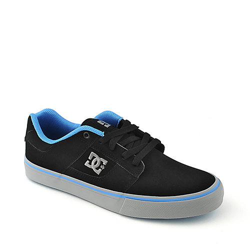 DC Bridge mens black lifestyle skate sneaker