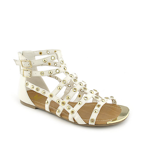 Shiekh 097 womens strappy flat gladiator sandal