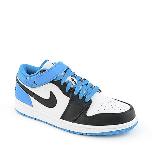 Jordan 1 Strap Low mens athletic basketball sneaker