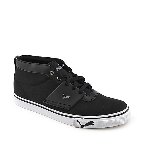 Puma El Ace Mid CVS black athletic lifestyle sneaker