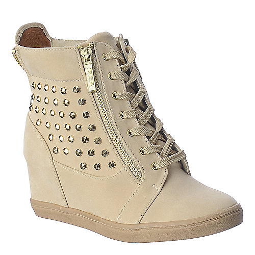 Shiekh Steve-8 nude casual sneaker wedge