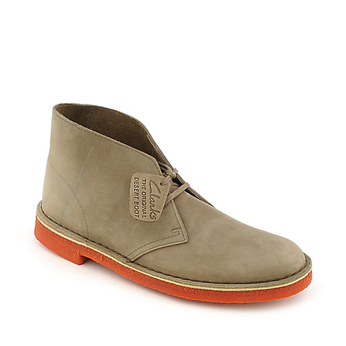 Clarks Desert Boot mens taupe casual boot