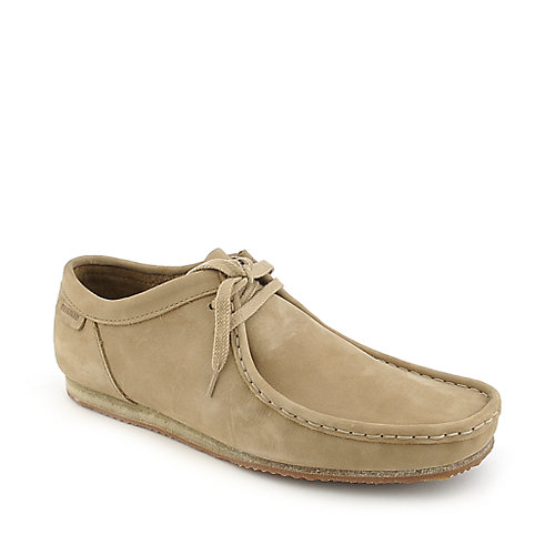 Clarks Original's Wallabee Run taupe casual ankle boot