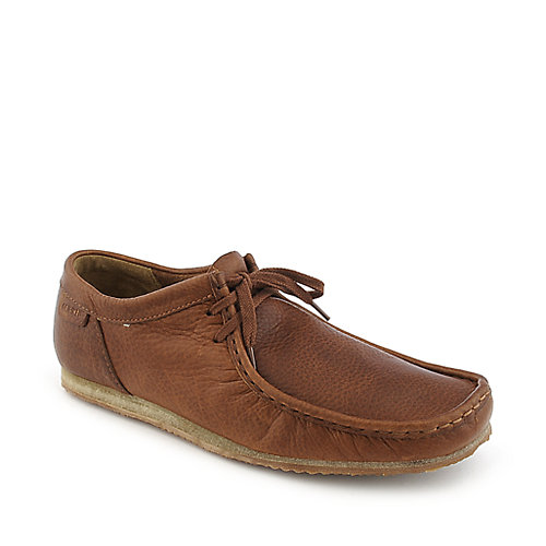 Clarks Original's Wallabee Run tan casual ankle boot