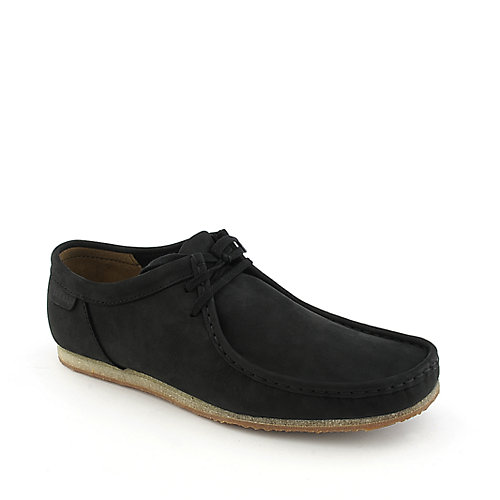 Clarks Original's Wallabee Run black casual ankle boot
