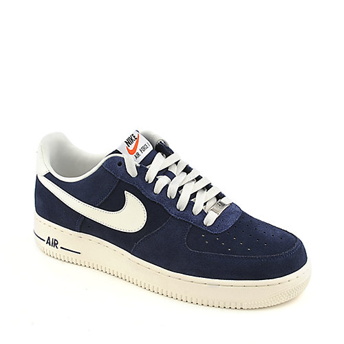 Nike Air Force 1 navy athletic basketball sneaker