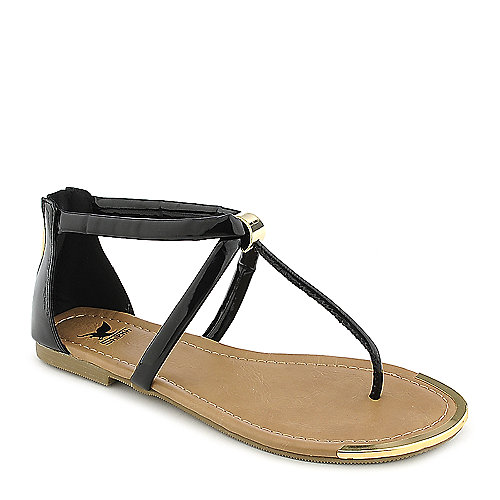 Shiekh Harty-S black flat thong sandal