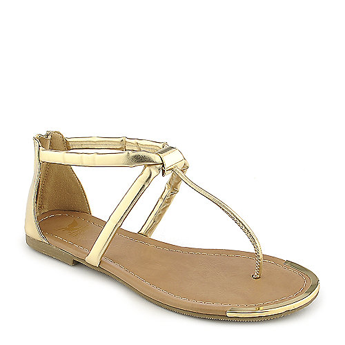 Shiekh Harty-S gold flat thong sandal