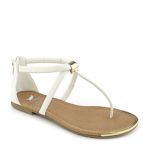Shiekh Harty-S white flat thong sandal