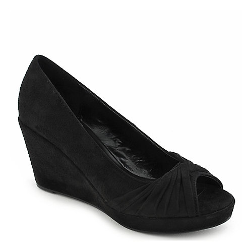 Shiekh Bell-S black platform wedge pump