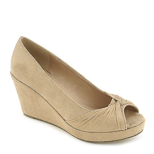 Shiekh Bell-S oatmeal platform wedge pump