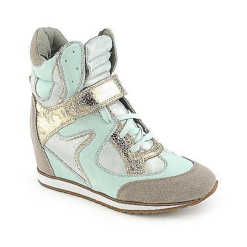 Nature Breeze Swift casual lace up sneaker wedge
