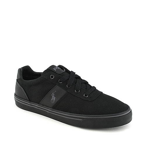 Polo Ralph Lauren Hanford mens black athletic sneakers