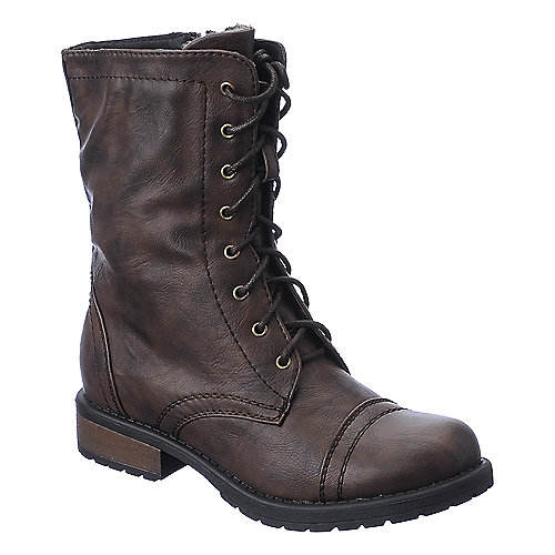 Shiekh PK-05 womens mid calf combat boot