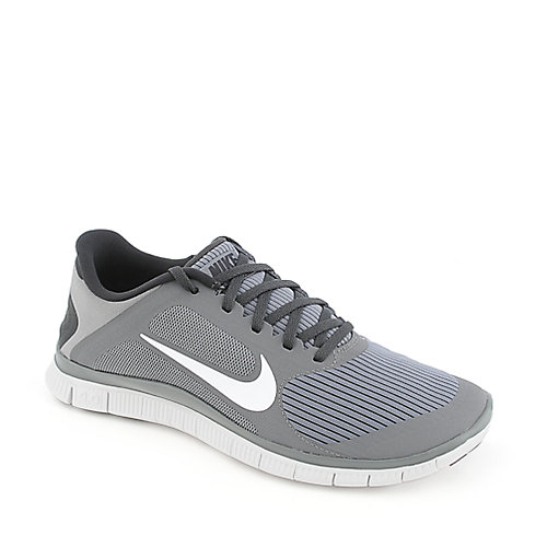 Nike Free 4.0 V3 mens grey athletic running sneaker