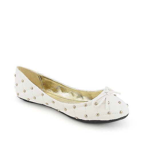 Shiekh Licana-2-S white casual flat slip on shoe